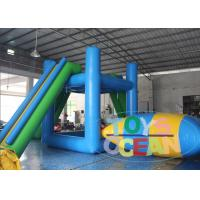 China Floating Inflatable Water Toys Tower With water Blob For Jump 4M Height wholesale