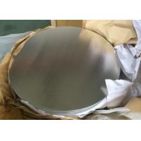 China 0.5mm Alloy 1050 3003 Circular Aluminum Plate H14 Temper For Non Slip Cookware wholesale