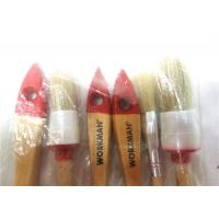 China Custom Bristle Flat / Round Paint Brush Sets , Natural Hair Paint Brushes wholesale