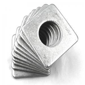 China Decorative Thin Steel Square Flat Washers Hardware Fasteners Type Widely Use wholesale