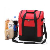 China Large Thicken Folding Insulated Cooler Bags  With Fresh Keeping Waterproof Nylon wholesale