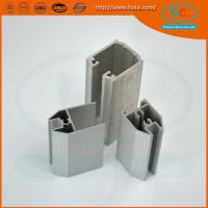 China China Champage brush aluminum window profile, Matt aluminum window section, window profile wholesale