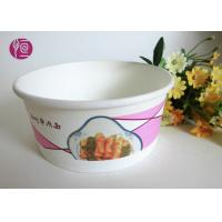 China 12 Oucne Single Wall Hot Paper Soup Containers BRC FDA Certificated wholesale