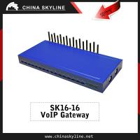 Hot selling 16 port goip gateway with 16 SIMs/ goip 16 port gsm gateway