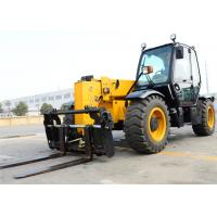 China Hydraulic Telescopic Boom Forklift Lifting Height 13700mm Construction Heavy Equipment wholesale
