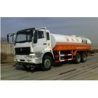 China Water Sprinkling Tank Truck Trailer SINOTRUK HOWO LHD 6X4 15-20CBM For Pesticide Spraying wholesale