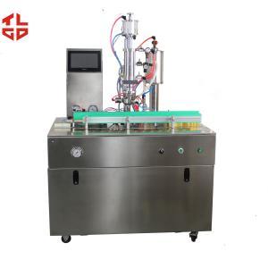 China Under Cap Aerosol Spray Filling Machine For Air Conditioner Refrigerant on sale