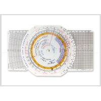 China Multi use Plastic Navigation Flight Computer E6B Plotter with Booklet for Pilot Student CRP-5 wholesale
