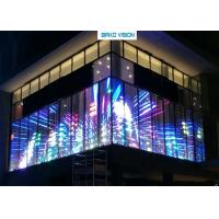 China Energy Saving, High Transparency, Customized Transparent LED Display Screen for Shopping Mall wholesale