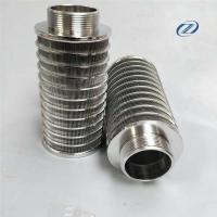 China Stainless steel wire wound filter/Johnson screen filter element for Filter industry on sale