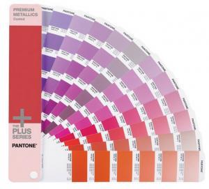 China 2015 Edition PANTONE Metallics Color Card - 10 wholesale