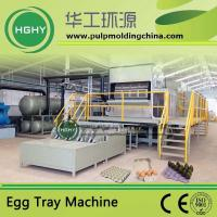 China pulp molding machine for egg tray fruit tray egg carton cup tray cup holder molding wholesale