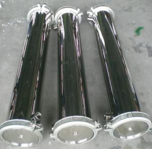 China Side Port RO Membrane Housing Membrane Pressure Vessels For Seawater Ionizeesalination wholesale