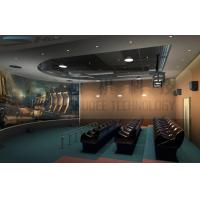 China 5D theater system , arc silver screen , perfect fusion effect wholesale