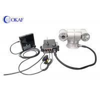 China HID High Speed Vehicle PTZ Camera , Vehicle Mounted Camera For Surveillance wholesale