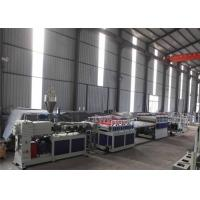 China WPC Board Production Line , WPC PVC Construction Template Production Line , PVC WPC Foam Board Extruding Machine wholesale