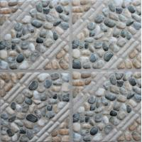 Glazed Ceramic Tiles 300x300mm Multicolor Ink-jet printing Glazed Rustic Tiles In Stock