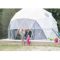 China European Style Geodesic Dome Tent Waterproof Canopy UV - resistant Long Lifespan wholesale