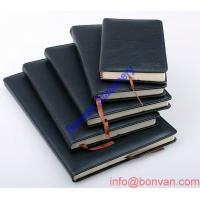 China OEM business loose leaf leather journal diary notebook wholesale
