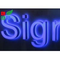 China Stainless Steel Framed Outdoor Lighted Business Signs IP65 For Street Sign wholesale