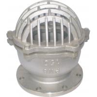 China 316L Stainless Steel Flanged Foot Valve For Water Pump or Bottom of Tank wholesale