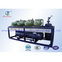 China Double Stage Parallel Air Cooled Screw Chiller PLC Safety Auto Control wholesale