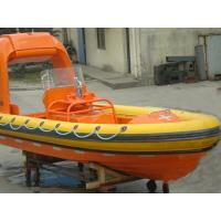 China CCS, BV,EC,ABS Approved SOLAS Standard Diesel Engine Fast Rescue Boat wholesale