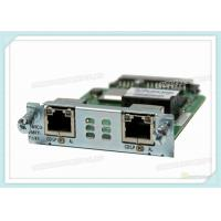 Buy cheap Multiflex Vwic Network Interface Card VWIC3-2MFT-T1/E1 With 2 X T1 / E1 Network from wholesalers