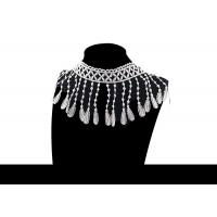 Buy cheap Custom Fashion Guipure Polyester Lace Decorative Tassel Fringe Trimming For Dress from wholesalers