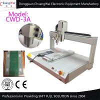 China White 0.5KW Manual Desktop PCB Router Machine with Air Cooled Spindle wholesale