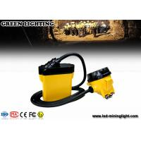 Buy cheap Rechargeable LED Headlamp with Cable , Explosion Proof Brightest Safety Miners Light from wholesalers