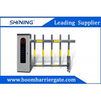 China 60W 2 Fence Security Parking Lot Barrier Gate , Vehicle Boom Barrier For Outdoor wholesale