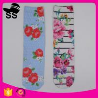 China 2017 Rose Flower Online Shopping Daily Life Cheap Nice On Foot Colorful Stockings Long Women Girls Sock on sale