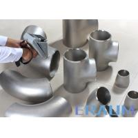 China ASTM B366 Alloy 600 / 625 Nickel Alloy Steel Welded Equal Tee Pipe Fitting wholesale