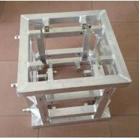 China Silver Corner Block Truss Coupler , Aluminum Stage Truss System wholesale