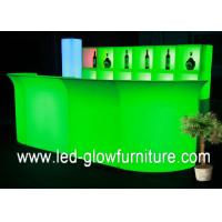 China Modern glowing waterproof led bar counter RGB colors changing with remote control wholesale