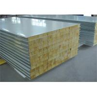 China Fire Proof Rock Wool Galvanised Steel Roofing Sheets Environment Friendly wholesale