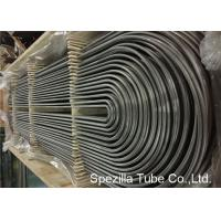 China ASME SA213 U Bend Pipe for Heat Exchanger , TP304 Seamless Stainless Steel Tubing  on sale