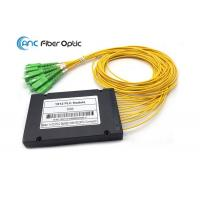 China FTTX Systems Fiber Optic Splitter Low Insertion loss With 2.0mm SCAPC Connector on sale