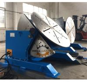 Flange Welding Positioner Turntable VFD Speed For Offshore Construction
