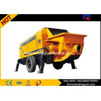Quality Stationary Electric Concrete Pump 110KW Power Anti - wearing Hydraulic Liquid for sale