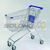 Buy cheap Convenient Pharmacy / Supermarket Shopping Trolley Air Bubble Film Packing from wholesalers
