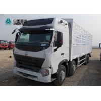 China A7 Howo Sinotruk 8x4 50T Heavy Cargo Truck With 7M Length Cargo Container on sale