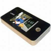 China Digital Door Peephole Viewer in Champagne Color, OEM Orders are Welcome wholesale