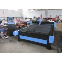 China Blue color 380V CNC Plasma Metal Cutting Machine with high accuracy and low cost wholesale