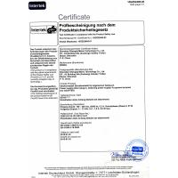 CHINASTAR OPTOELECTRONICS ( NINGBO ) LIMITED Certifications