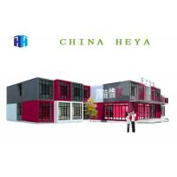 China High Performance Double Storey Prefab Houses Modular Sleeping Room Anti Impact wholesale