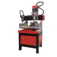 China Small 300*300mm 4 Axis CNC Engraving Cutting Machine wholesale
