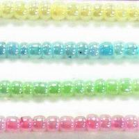China Glass Seed Beads, Available in Ceylon Colors, Comes in Round Shape wholesale