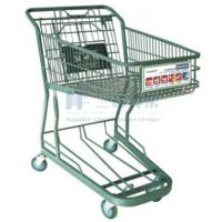China Japan Style Heavy Duty Grocery Supermarket Shopping Carts on Wheels wholesale